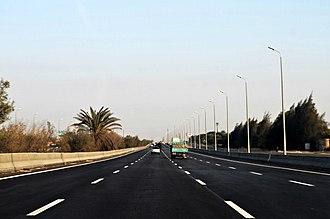 Cairo–Alexandria desert road - Image: Cairo Alexandria Desert Road day