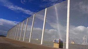 Migrants around Calais - Fencing in Calais