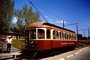 Heritage Park Historical Village - Streetcar