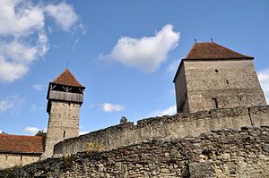 Câlnic, Alba - Outside view of the castle