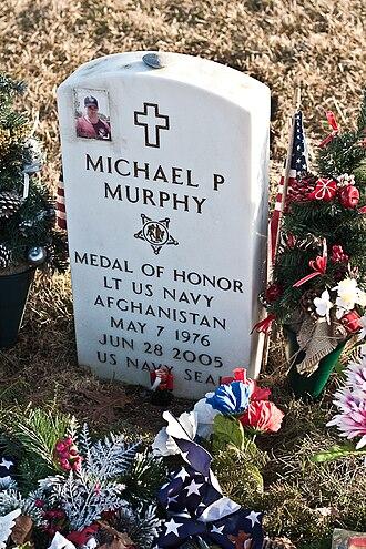Michael P. Murphy - Murphy's grave in Calverton, Long Island