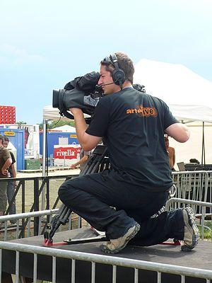 Camera operator, for Arte, Paléo Festival