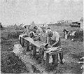Camp de prisonniers - Camp de prisonniers allemands, la lessive - Kenitra - Médiathèque de l'architecture et du patrimoine - AP62T060974.jpg