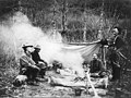 Campsite tea party near Mineral Creek, Alaska, between 1904 and 1914 (AL+CA 3101).jpg