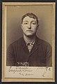 Cana. Eugène, Louis. 22 ans, né à Paris Vllle. Monteur en bronze. Anarchiste. 2-3-94. MET DP290250.jpg