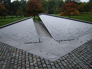 Canada Memorial war memorial in Green Park, London