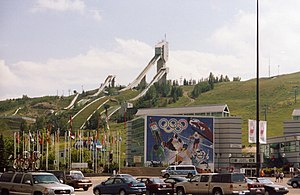 Canadian Winter Sport Institute - Canada Olympic Park is one of the most visible legacies of the 1988 games