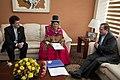 Canciller Ricardo Patiño recibió copia de Cartas Credenciales de Bolivia (8486321398).jpg