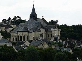 La collégiale de Candes-Saint-Martin