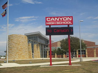Canyon High School (New Braunfels, Texas) Public school in New Braunfels, Texas, United States