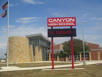 New Braunfels, Texas - Canyon High School