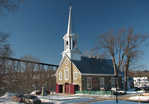 Cap-Rouge, Quebec City - Old Village's Church