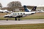 Capital Aviation G-VIPY PA31 Navajo Coventry (35983287443).jpg