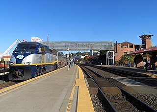 Martinez station railway station in Martinez, California