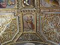 Cappella serragli, volta 01 santi di tito e tiberio titi 03 doni dello spirito santo.JPG