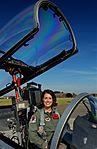 Capt. Nicole M. Malachowski, 494th FS fighter pilot, sits in an F-15E Strike Eagle.jpg