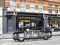 Car shaped bicycle rack in Earlham Street.jpg