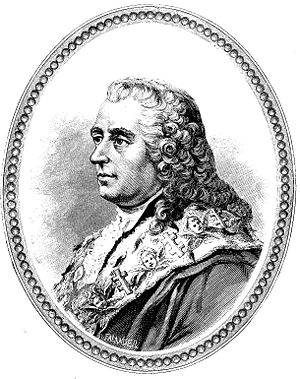 Carl Gustaf Tessin. Bild ur planschverket Femt...