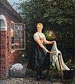 Carl Ludwig Jessen Mädchen bei der Wäsche 1877.jpg