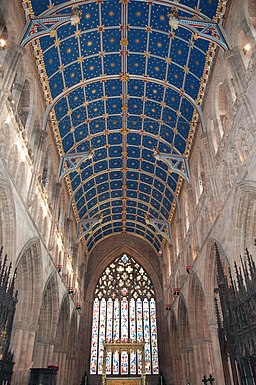 Carlisle Cathedral barrel ceiling