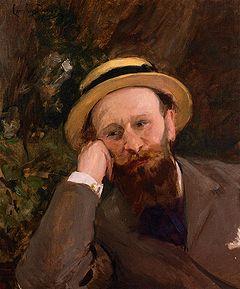 Carolus-Duran - Portrait of Edouard Manet