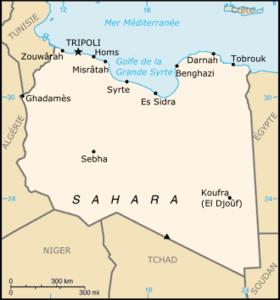 Géographie de la Libye — Wikipédia