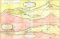 Carte du cours du fleuve de Saint Laurent depuis Quebec jusqu a la mer - Ire Feuille.png