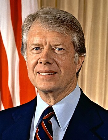 English: US President Jimmy Carter
