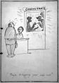 Cartoon 'They're discussing your case now' Wellcome L0030831.jpg