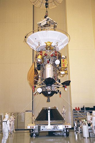 Cassini–Huygens - Cassini-Huygens assembly