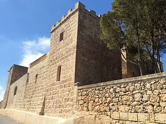 Wardija - Qannotta Castle, built by Grand Master Perellos