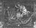 Castello di Fenis, fig 139 affresco nel cortile, Nigra.tiff