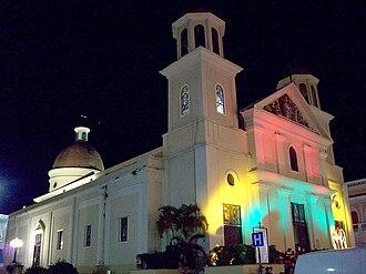 Catedral Nuestra Señora de la Candelaria (Mayagüez, Puerto Rico) - Image: Catedral de Mayaguez