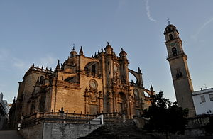 Jerez de la Frontera - Image: Catedral jerez frontera cathedral atardecer 01