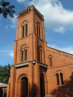 St. Peter Claver Cathedral, Bangassou Church in Bangassou, Central African Republic