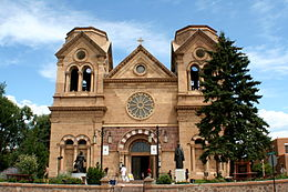 Cathedral of St. Francis, Santa Fe, New Mexico.JPG