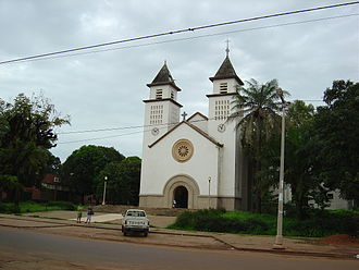 Religion in Guinea-Bissau - A Church in Bissau
