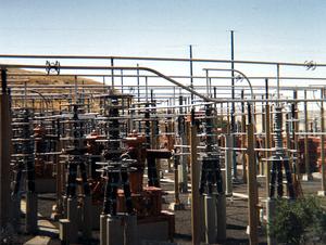 Celilo Converter Station - The Celilo Converter Station in 1989