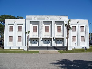 National Register of Historic Places listings in Gulf County, Florida - Image: Centbldgportstjoe 1