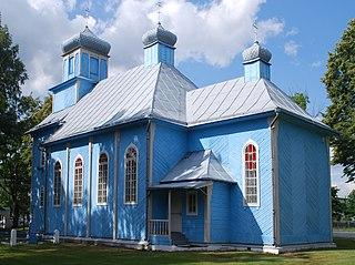 Dubicze Cerkiewne Village in Podlaskie, Poland