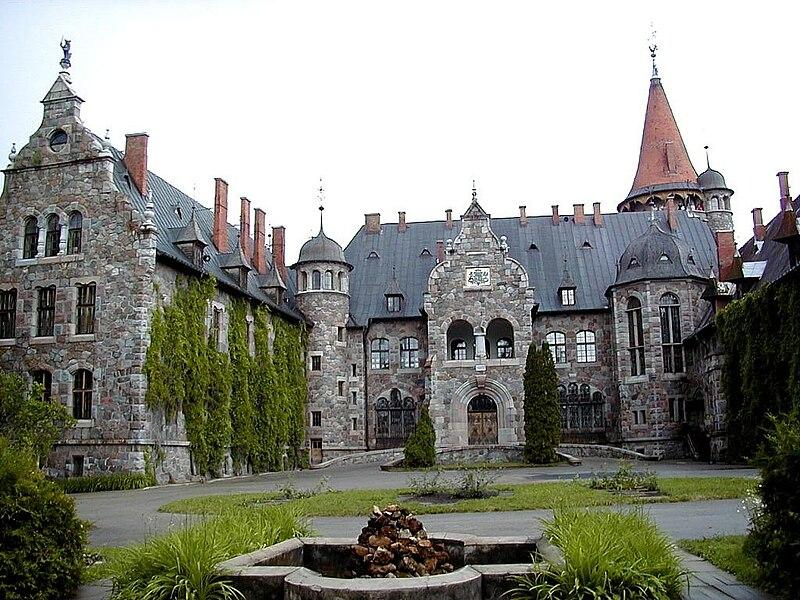 Цесвайне: замок барона фон Вульфа