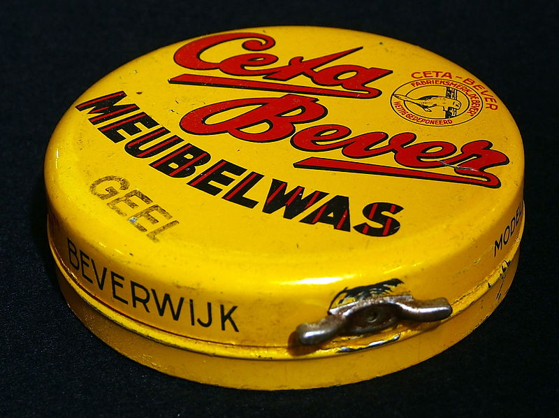File:Ceta Bever meubelwas, geel blikje, foto1.JPG