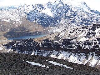 lake in La Paz Department, Bolivia