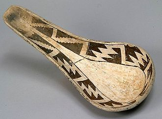 Ladle (spoon) - C. 10th century AD ladle from Chaco Canyon, USA