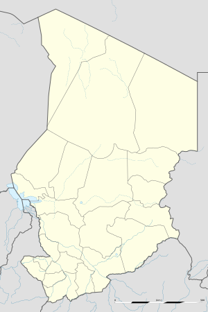 Mani, Chad is located in Chad
