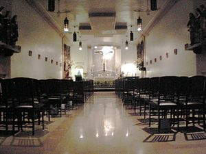 San Lorenzo Ruiz Chapel (New York City) - interior (2008)