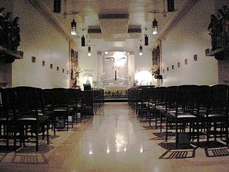 Px Chapel Of San Lorenzo Ruiz Interior Wtm Sheila