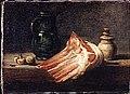 Chardin (attribué à) - Table de cuisine et ustensiles avec un carré de mouton, MP2017-11.jpg