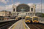 Charing Cross station MMB 13 375813 375808 465043 465008.jpg
