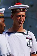 Charles-de-Gaulle seaman Bastille Day 2008